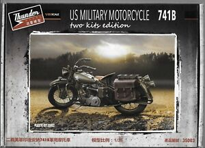 Thunder Model US Military Motorcycle, 2 Kits Edition in 1/35 003 ST