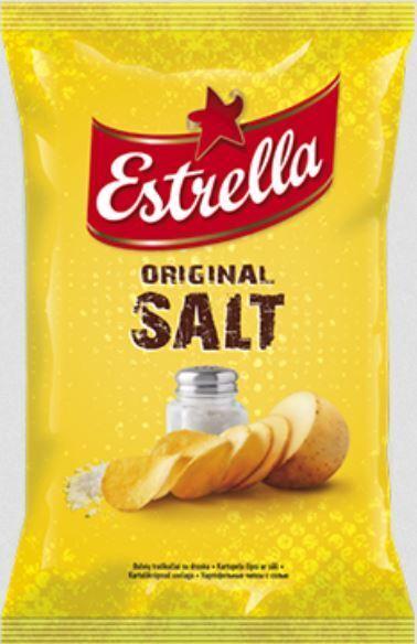 ESTRELLA Original Salted Potato Chips 140g 4.94oz