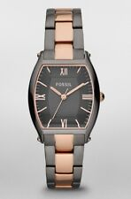 Fossil Watch * ES3059 Wallace Smoke and Rose Gold Stainless Steel for Women