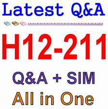 Huawei Networking Technology and Device HCNA H12-211 Exam Q&A PDF+SIM