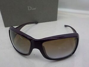 d7b478b1383 Image is loading Auth-Christian-Dior-Sunglasses-Women-Purple-Butterfly-CD-