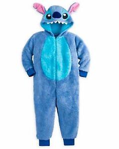 f6fc55b756af Disney Store Lilo   Stitch Costume Sleepwear Pajamas Plush PJs Girls ...