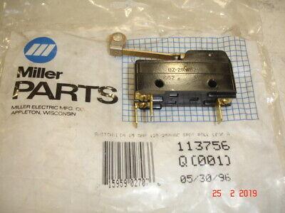 MILLER Electric Leaf Type Switch Obsolete Part 081-957 OEM $18