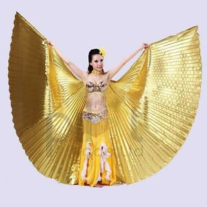 New-Belly-Dance-Costume-Isis-Wings-Angle-Wings-Polyester-Adult-039-s-Fancy-Isis-Wing