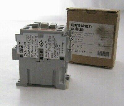 New Sprecher /& Schuh CA7-16-10-240 Contactor