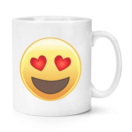 Lustig Smiley Valentinstag Liebe Herz Augen Emoji 284ml Becher Tasse