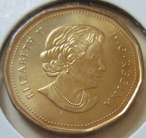 2011 Canada PARKS Loonie One Dollar Coin UNC Canadian 1 $