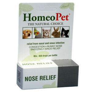 HomeoPet-Pet-Nose-Natural-Relief-Nasal-amp-Sinus-Infection-15ml-Made-in-USA