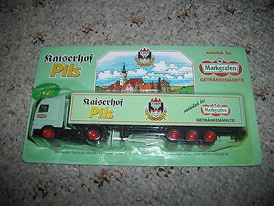 Getränke Markgrafen Truck Kaiserhof Pils Nr 60 Mb Actros Sz Rar KöStlich Im Geschmack Werbetrucks Sammeln & Seltenes
