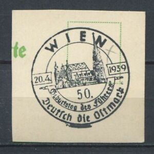 German-Reich-WW-II-Better-fancy-cancel-from-1939-Wien