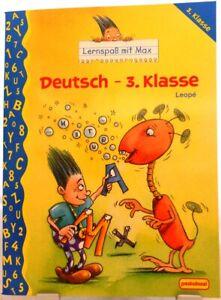 Allemand 3. classe + LERNSPAß avec MAX + langue exercent + des leçons + INFLUENTS/62