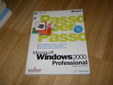 MICROSOFT WINDOWS 2000 PROFESSIONAL - PASSO PER PASSO - MONDADORI 2000 (X8)