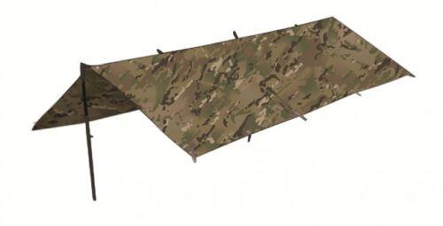 NEW MTP Multicam HC ARMY STYLE Camouflage Shelter Sheet Basha  Bushcraft Tarp