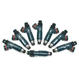 8 fuel Injectors OEM DENSO 12Hole Upgrade for TOYOTA /& LEXUS 4.7L V8 23250-50040