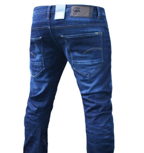 G-star Arc 3d SLIM Dark aged Jeans Pantaloni NUOVO MODELLO NUOVO. diverse dimensioni