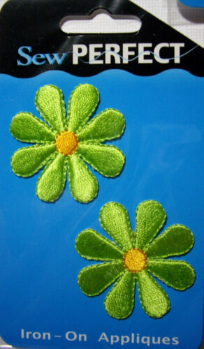 NEW DAISY Embroidered Appliques Iron On  *Your Choice Design* Daisies Flowers
