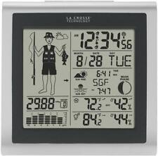 NEW LA CROSSE 308-1451 FISHERMAN WEATHER STATION WIRELESS FORECASTER 0685032
