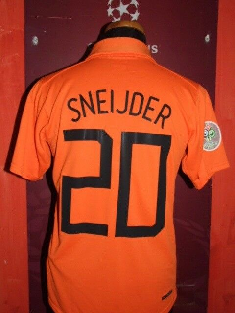 SNEIJDER HOLLAND WC 2006 MAGLIA SHIRT CALCIO FOOTBALL MAILLOT JERSEY SOCCER