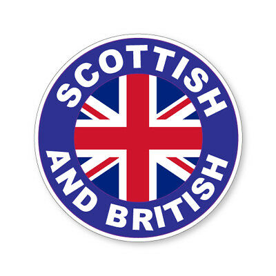 Flag Car Van Lorry vinyl Self Adhesive stickers 2 x BRITISH AND PROUD