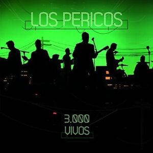Los-Pericos-3-000-Vivos-New-CD-Argentina-Import