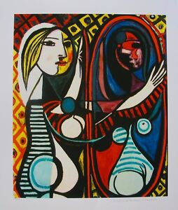 Pablo Picasso GIRL BEFORE MIRROR Estate Signed Limited ...