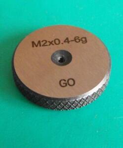 M2-x0-4-Screw-Thread-Ring-Gauge-Go-6g-NEW-Quality