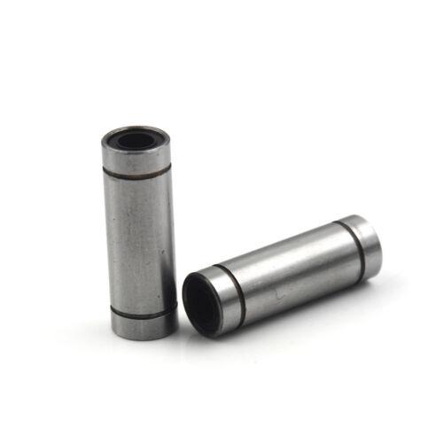 2pcs LM8LUU 8mm Long Linear Ball Bearing Bushing 8x15x45mm 3D Printer CNC Pz