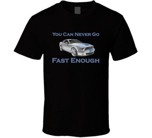 Fast Enough Two-lane Drag Racing Shirt Hot Rod Street Race Muscle Car T-shirt