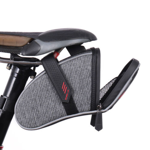 Road Glide Bike Bicycle Bag MTB Rear Seat Tail Holder Pouch Accessories Saddle