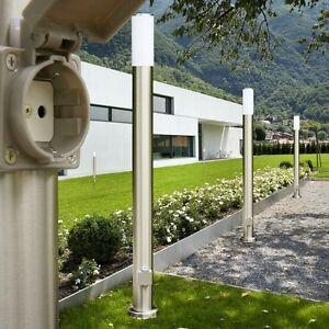 Détails sur Lampadaire Borne d\'éclairage Luminaire Lampe d\'extérieur Lampe  de jardin 142238