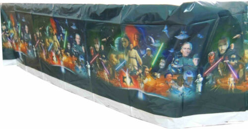 STAR WARS PARTY SUPPLIES PARTY CUPCAKE WRAPPER TOPPER TABLECOVER BANNER BUNTING