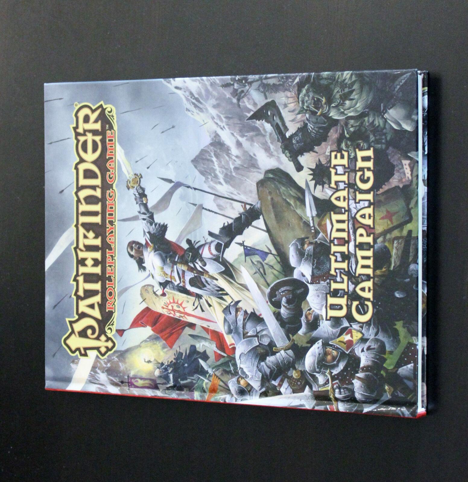 5 Pathfinder Ultimate Books Campaign,Combat,Intrigue,Magic & Wilderness