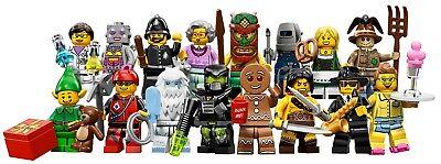 Figurines neuves au choix New choose one Lego Minifigures Serie 6-8827