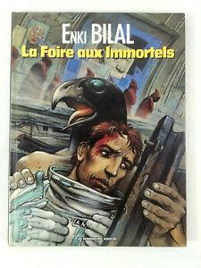 Comics-la-Feria-de-Inmortales-Enki-Bilal-Humanoides-Asociado-1992-Envio