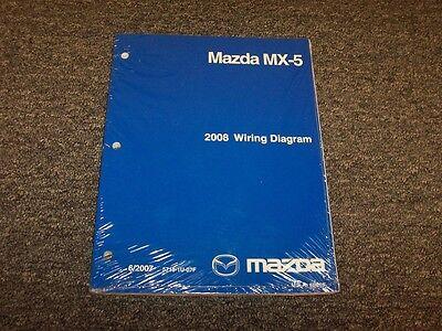 2008 Mazda MX-5 Miata Electrical Wiring Diagram Manual SV ...