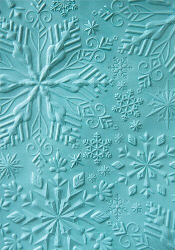 Sizzix Textured Impressions Embossing Folder-Katelyn Lizardi-Winter Snowflakes