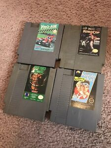 NES-Nintendo-Entertainment-System-Game-Bundle-4-Games-Lot-Great-Deal