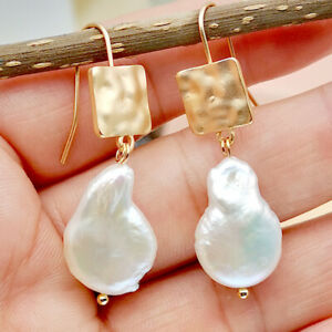 New-1-Pair-Elegant-Women-Crystal-Pearl-18K-Gold-Filled-Ear-Stud-Fashion-Earrings