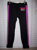 Justice Active Soft Volleyball Leggings Girl's Size 20 Black/purple