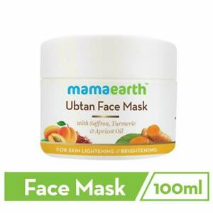 Mamaearth Ubtan Face Pack Mask for Fairness, Tanning & Glowing Skin 100 ml