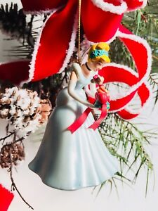 Disney Grolier Christmas Magic Cinderella & Jaq Ornament ...
