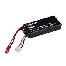 Original 7.4V 1400mAh 1C LiPo Battery for Hubsan X4 H501S H502S Transmitter