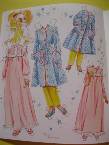 Darling Mid-Century Reproduction w// matching outfits MOMMY AND ME PAPER DOLLS