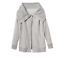 Heather Sz Grey L Langærmet Wrap Women's Delight Wrapper's Athleta Jacket 4qw15q