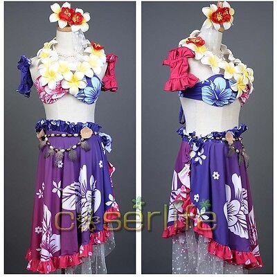 Love Live!School Idol Project SIF Kotori Minami Cosplay Costume Swimsuit Dress