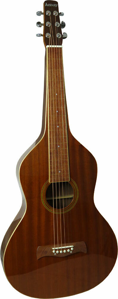 Ashbury AW-10 Squareneck Weissenborn Gitarre, Sapeli Holz von Hobgoblin Musik
