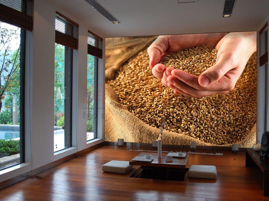 3D Getreide, Weizen 277 Fototapeten Wandbild Fototapete BildTapete Familie DE