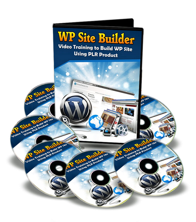 How To Build A Wordpress WP Site Using PLR Products - 17 Videos Training (CD ROM