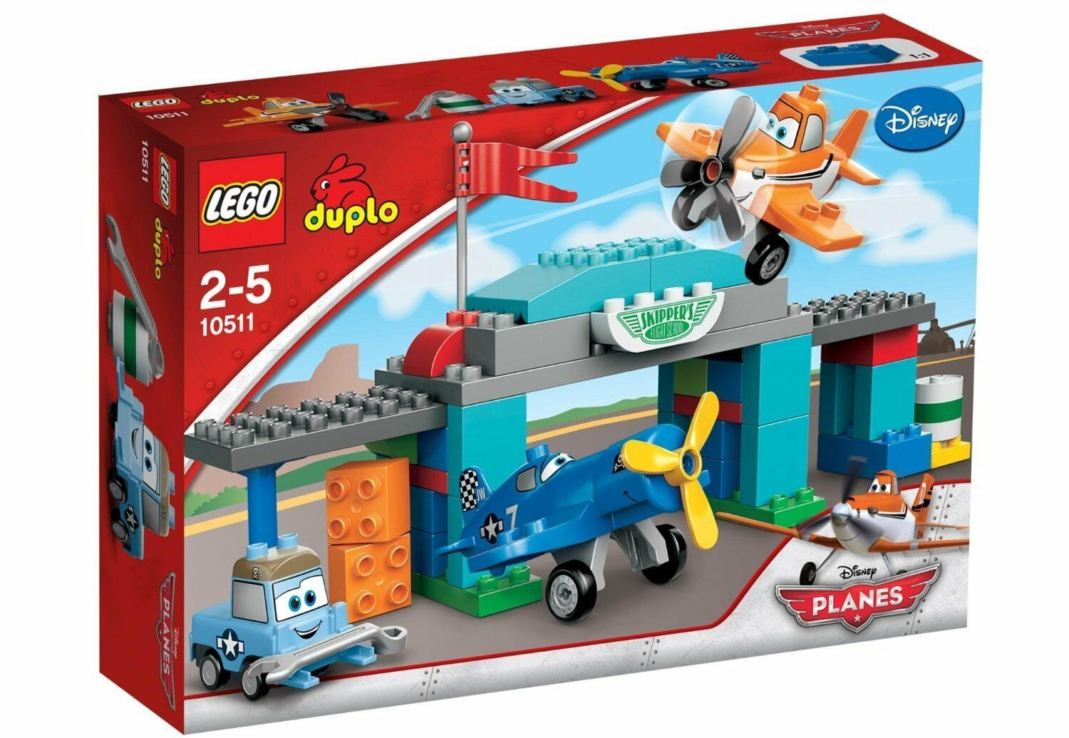 Lego Duplo 10511 Skipper Flying School New Ovp Misb