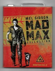 COFFRET-3-BLU-RAY-DISC-MAD-MAX-COLLECTION-1-2-3-COLLECTOR-BOITIER-METAL